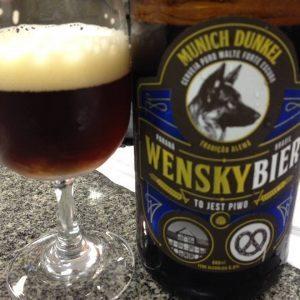 cervejas curitibanas - Wensky Munich Dunkel