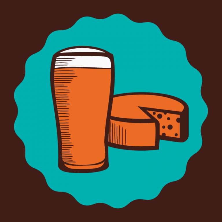 Harmonização de cervejas com queijos