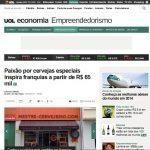 UOL Economia: Paixão por cervejas especiais inspira franquias a partir de R$ 65 mil