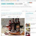 Revista Casa e Jardim: Cerveja e chocolate na mesa