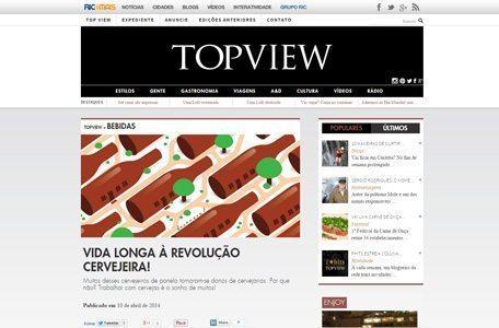 Revista Top View: Vida longa à Revolução Cervejeira!