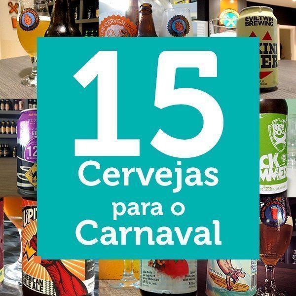 15 Cervejas para o Carnaval