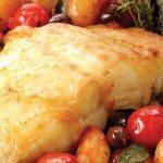Receita harmonizada: Bacalhau ao forno com emulsão de amêndoas