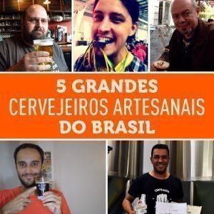 5 grandes cervejeiros artesanais do Brasil