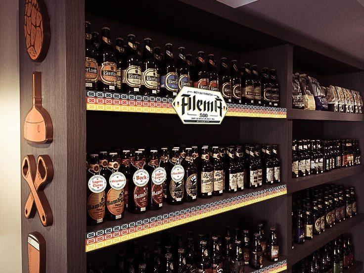 Mês da Cerveja Alemã - Gôndolas e tags