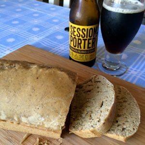 Receita de pão com cerveja Session Porter