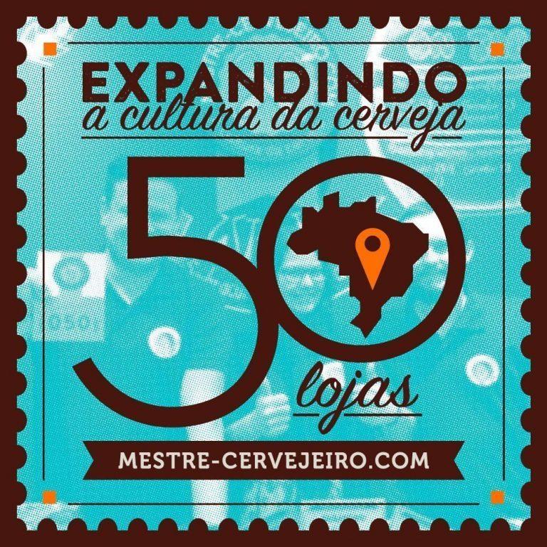 Mestre-Cervejeiro.com chega a 50 lojas em operação no país