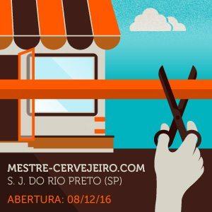 Mestre-Cervejeiro.com inaugura primeira unidade em São José do Rio Preto