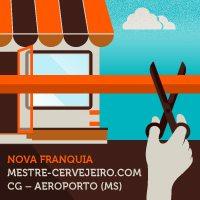 Aeroporto Internacional de Campo Grande ganha loja da rede Mestre-Cervejeiro.com