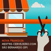 São Bernardo do Campo ganha loja da rede Mestre-Cervejeiro.com