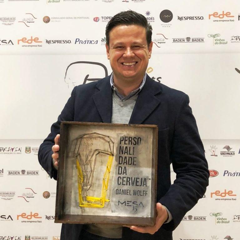 Diretor da rede de lojas Mestre-Cervejeiro.com é homenageado com o prêmio personalidade da cerveja 2018